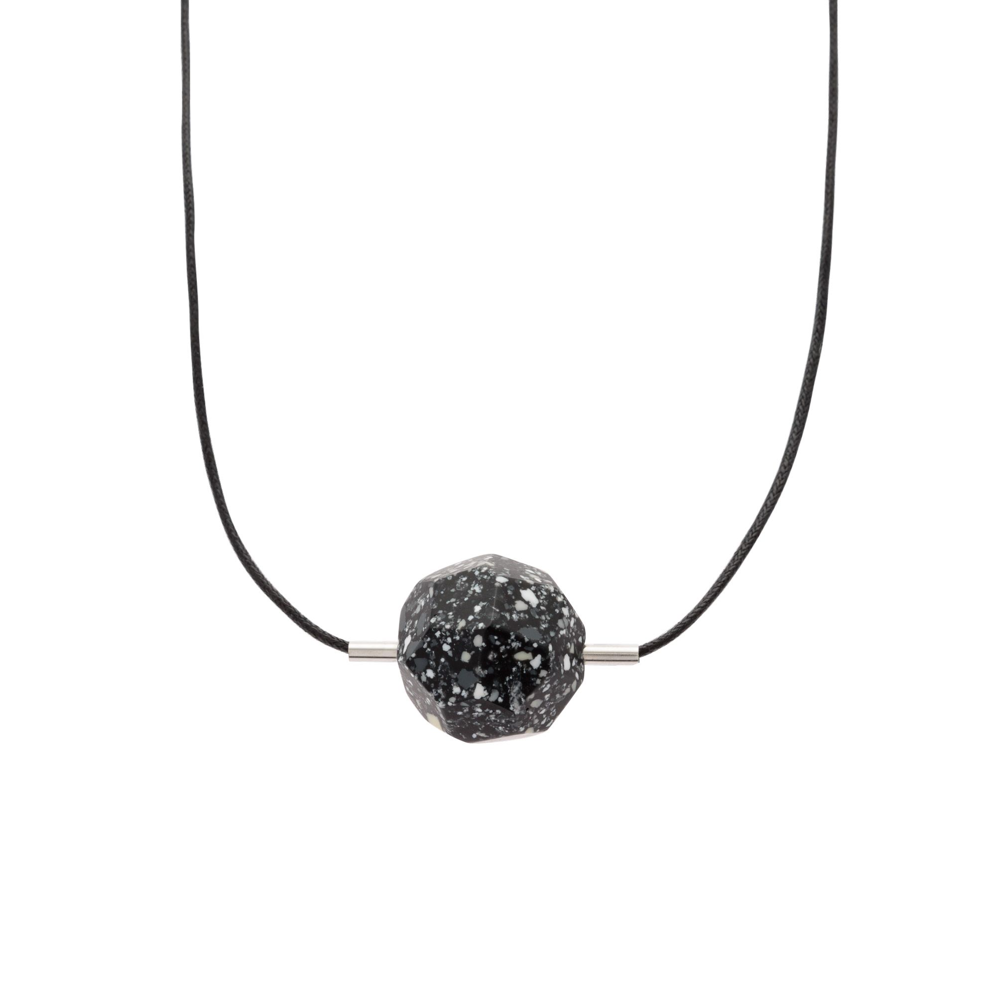 Buy geo meteorite pendant necklace from oliver bonas buy geo meteorite pendant necklace from oliver bonas aloadofball Images