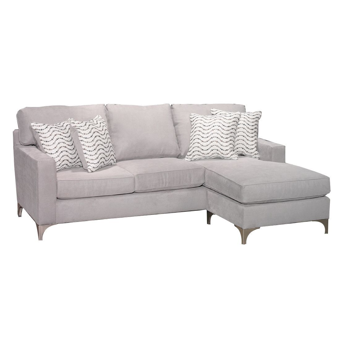 Swell Contemporary Gray Sofa Chaise Tessa Chaise Sofa Couch Camellatalisay Diy Chair Ideas Camellatalisaycom