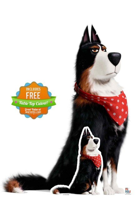 Rooster the Sheepdog from The Secret Life Of Pets 2