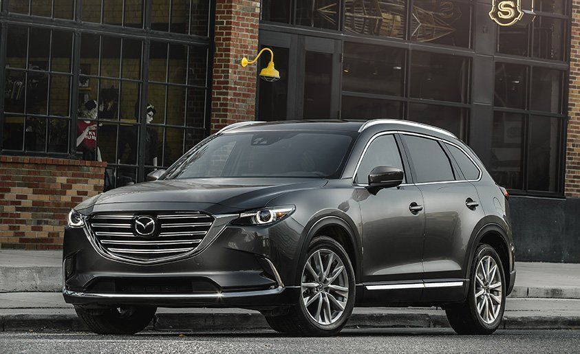 Best Mid Size Suv Mazda Cx 9 2017 10best Trucks And Suvs Car Driver