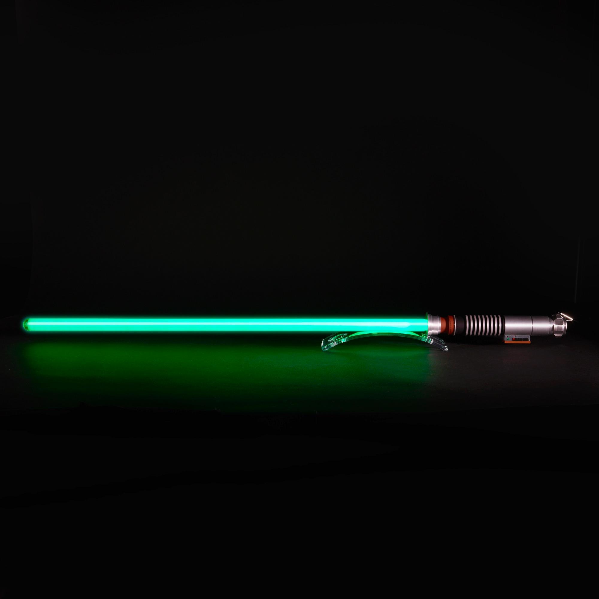 Star Wars The Black Series Luke Skywalker Force Fx Lightsaber Star Wars Light Saber Star Wars Black Series Star Wars Geek Gifts