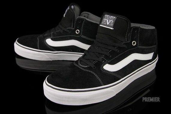 a7797e4838 Vans TNT 5 Mid - Black - White - Pewter - SneakerNews.com