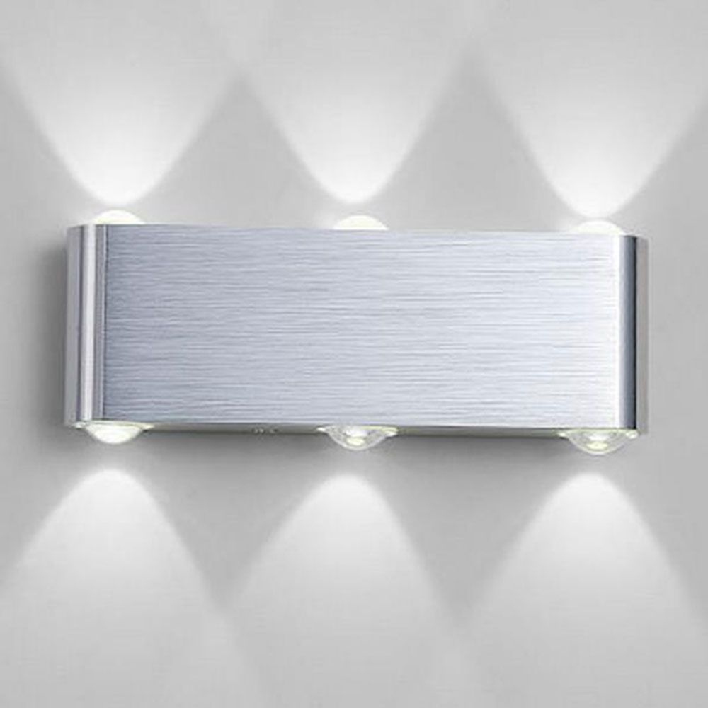 AC100-240V 6*1W modern led wall lamps, living room hallway bedroom ...