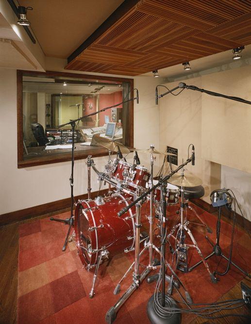 Band Room Design: Recording Studio Home, Recording Studio