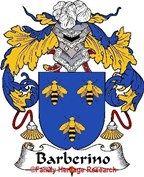 Barberino Spanish Coat of Arms Print Family Crest Barberino