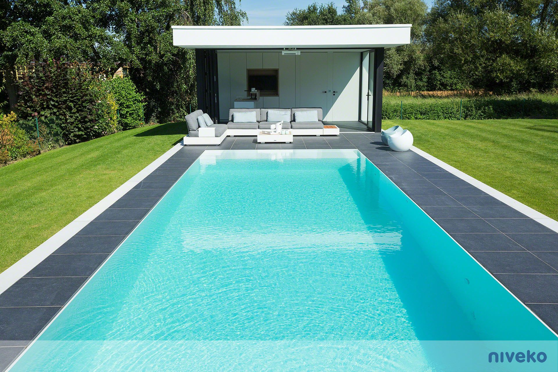 NIVEKO Evolution » Niveko Pools.com #lifestyle #design #health #summer  #relaxation #architecture #pooldesign #gardendesign #pool #swimmingpool  #pools ...