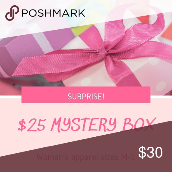 30 Mystery Box Women S Mystery Box Of Women S Apparel 4 5 Items Size M L Keep Or Resell Other Free Gifts Mystery Box Gifts