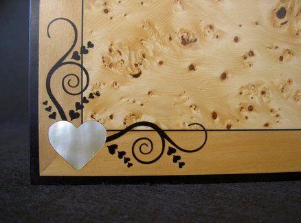 Jewellery Box In Huon Pine Burl
