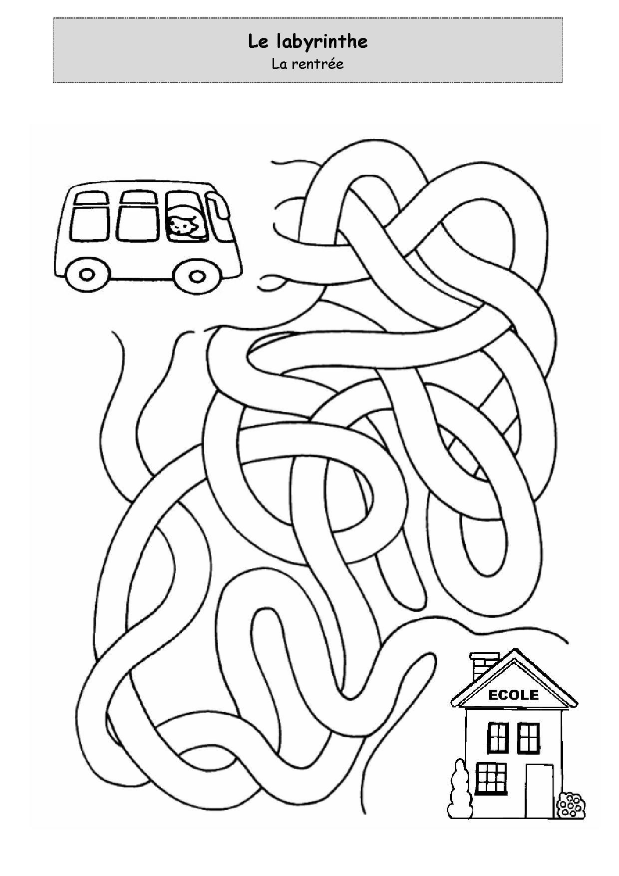 Laberinto Labirinti Mazes For Kids Education Kids