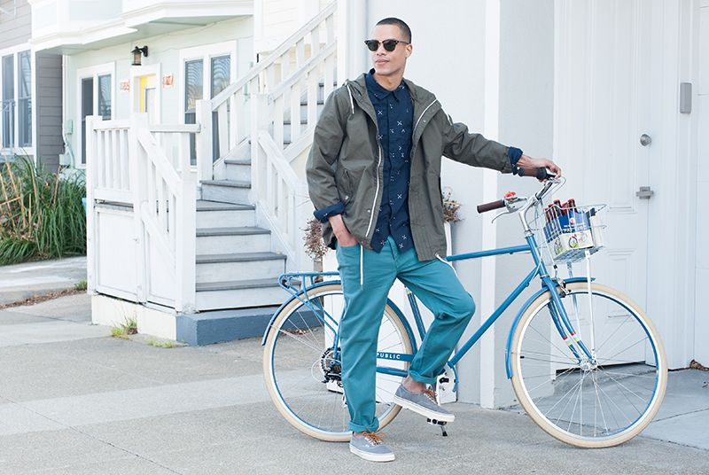 Public V7 2015 In Slate Blue City Bike Bike Commuter Bike