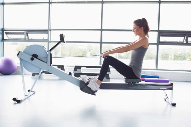 Burning Calories Fast on a Rowing Machine | Rowing machine ...