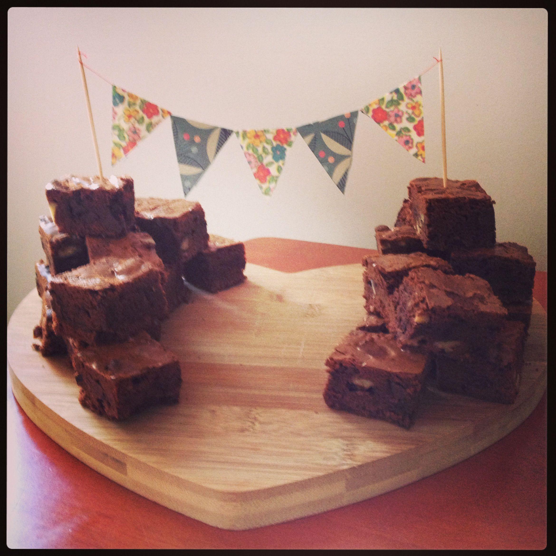 Baby shower brownies | recetas | Pinterest | Recetas