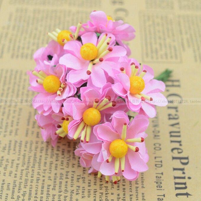 3CM Artificial silk flower Diy Craft daisy flower wedding party ...