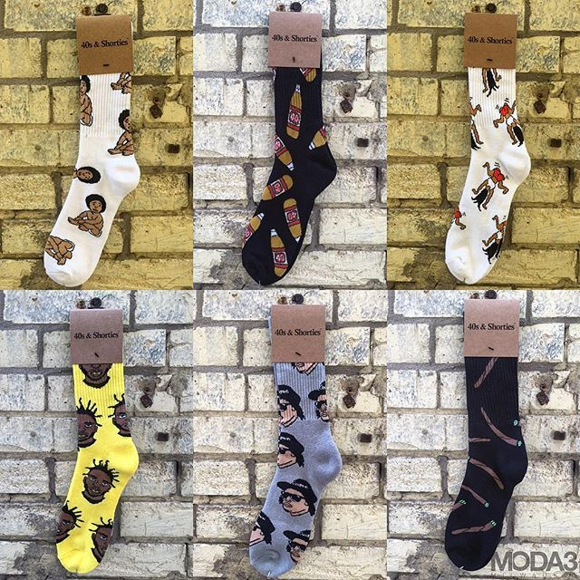 new to our brand roster is sock maker 40 s shorties with top