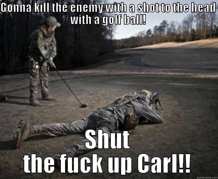 50f2846ea0f8d09bfbd45d3edf927d3d shut the fuck up carl! quickmeme stfu carl pinterest carl
