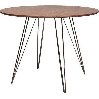 mercury row grus dining table & reviews | wayfair | round kitchen, Esszimmer dekoo