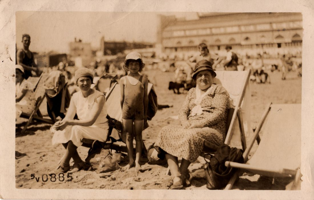 Image result for old fashioned photos of the seaside