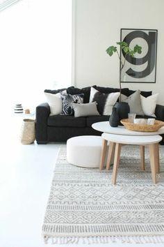 wohnzimmer skandinavischer teppich skandinavische möbel wohnzimmer