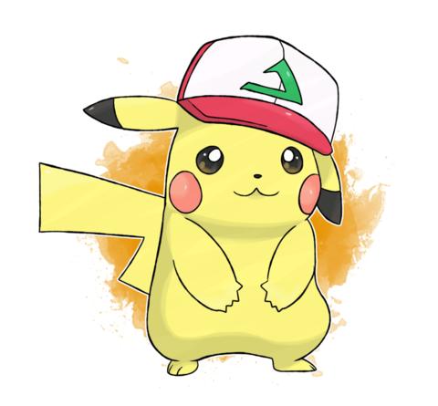 Pokemon 20th Movie I Choose You Ash Pikachu Original Cap Pikachu Pokemon Pikachu Drawing