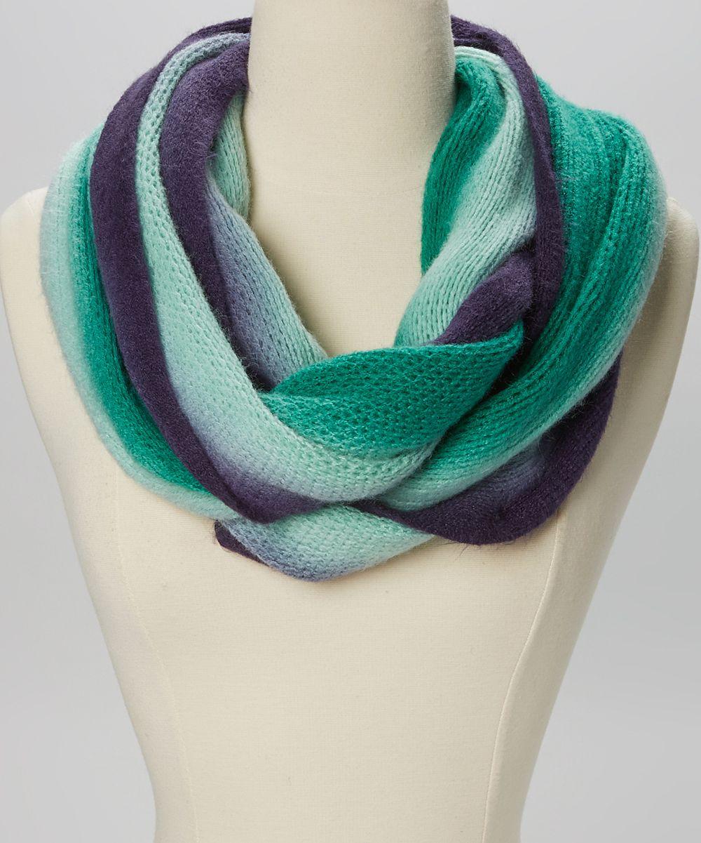 Emerald u navy ombré infinity scarf clothes pinterest infinity