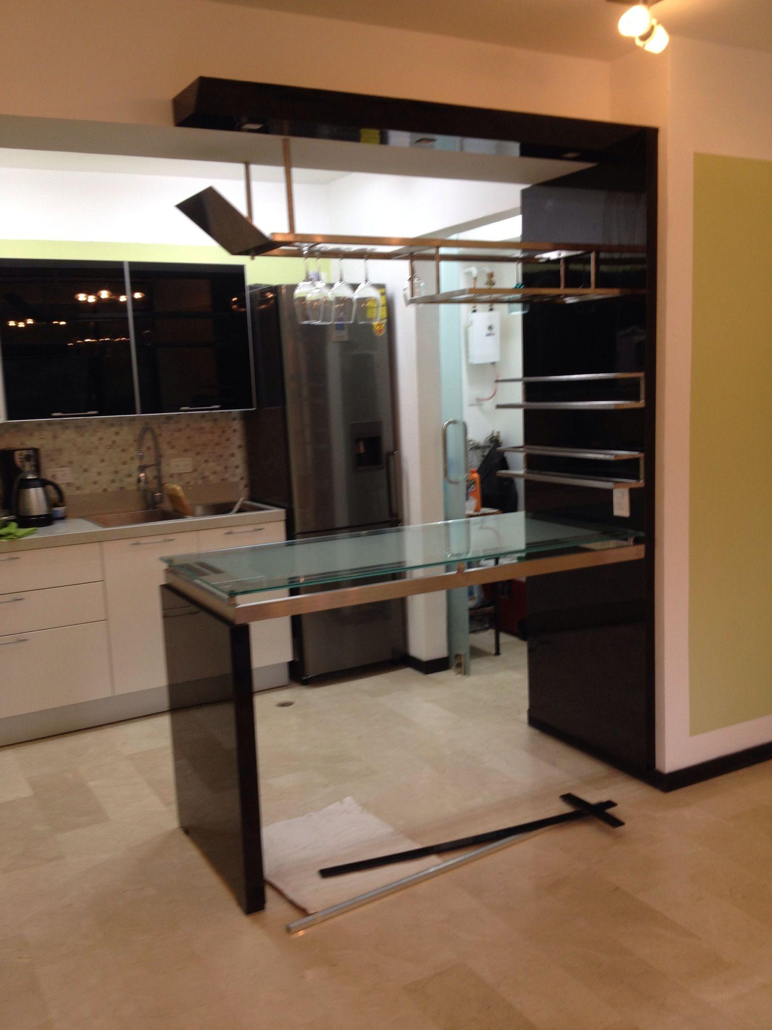 Ideas decoraci n barra de cocina y cantina remodelaci n for Remodelacion de cocinas pequenas