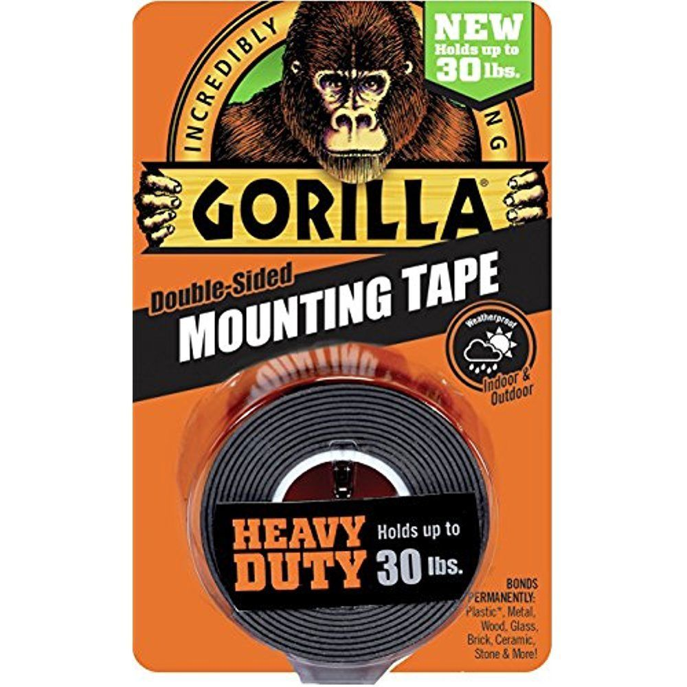 Outdoor Mounting Tape Double Sided Scotch Strong Adhesive Holds Permanent New