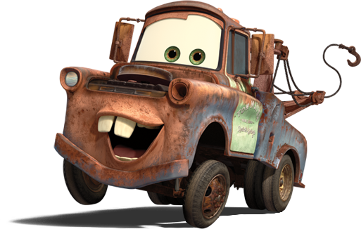 Mater!! | for Roman | Cars, Tow truck driver, Disney cars birthday
