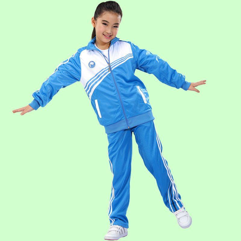 2019 New Fashion Kids Garment Boys Girls Spring Autumn Poly Triot School Unform Tracksuit Jacket+pant Diy Logo Mother & Kids