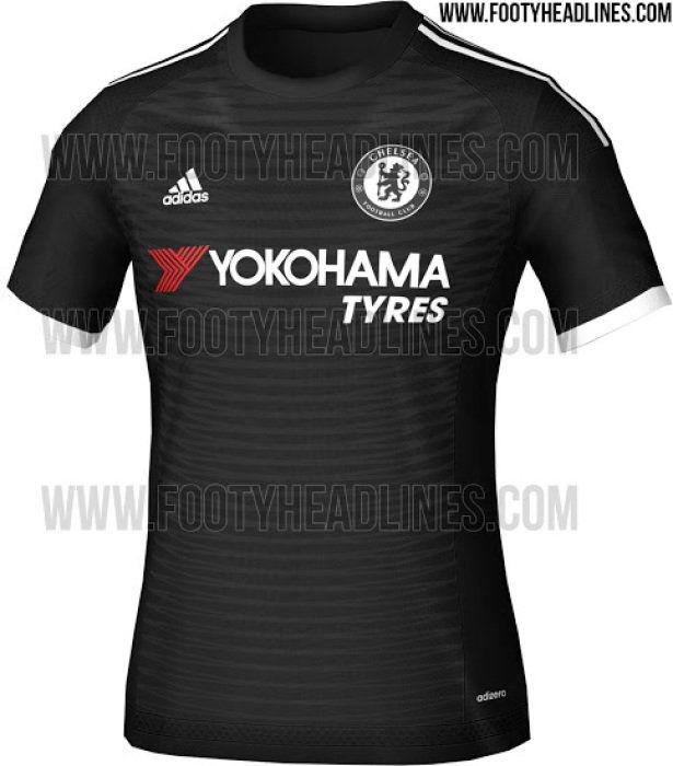 6ffa78b117 Terceira camisa do Chelsea