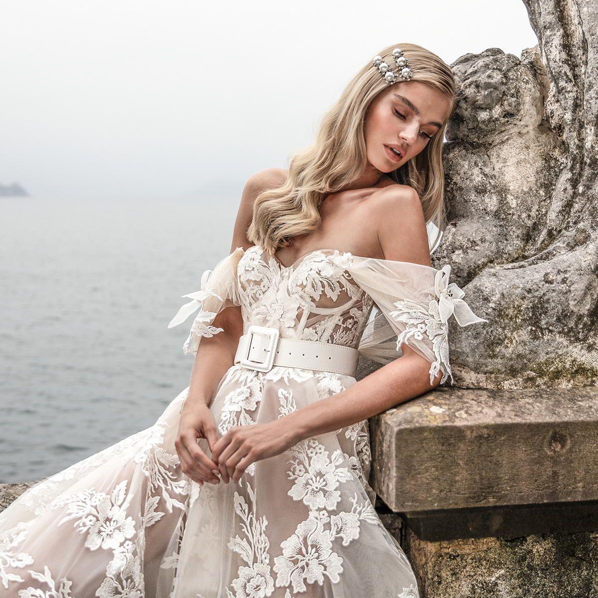 "Julie Vino Fall 2020 Wedding Dresses — ""Bellagio"" Bridal"