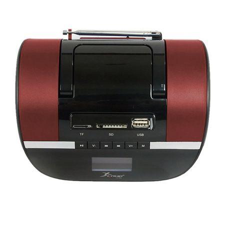 75770b478b4 KaBuM! - Knup Rádio Relógio Boombox com Entrada USB SD e FM KP-A58 ...