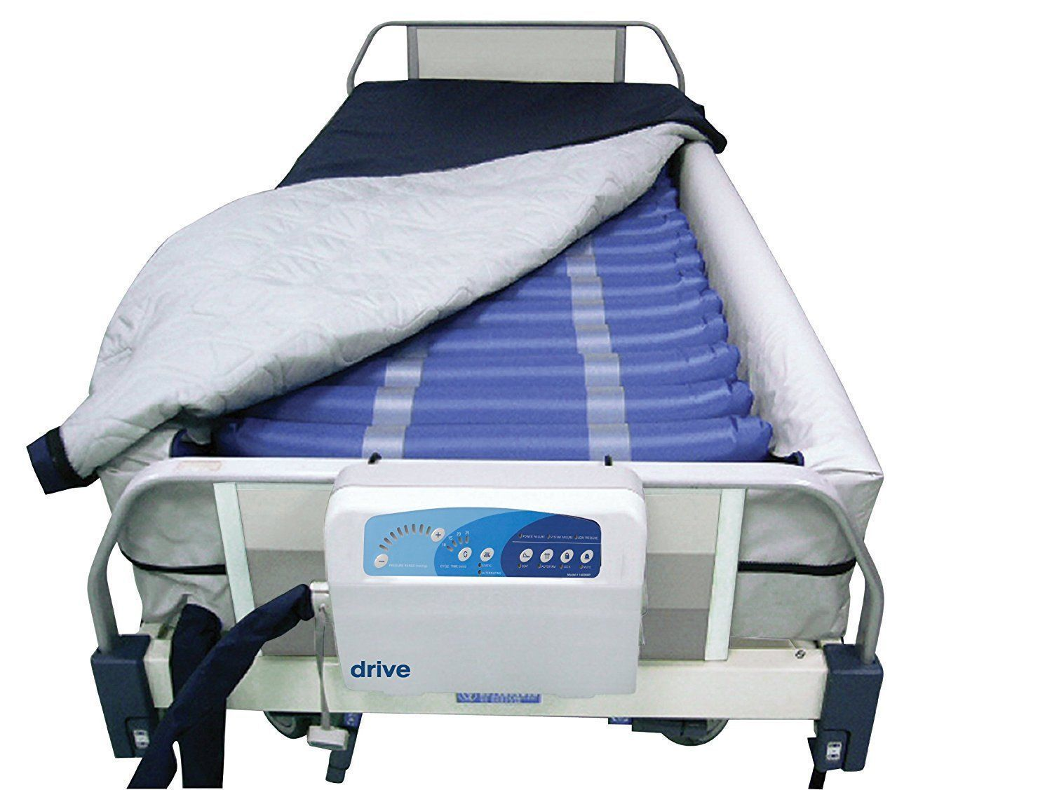 new med aire 8 perimeter low air loss mattress replacement system