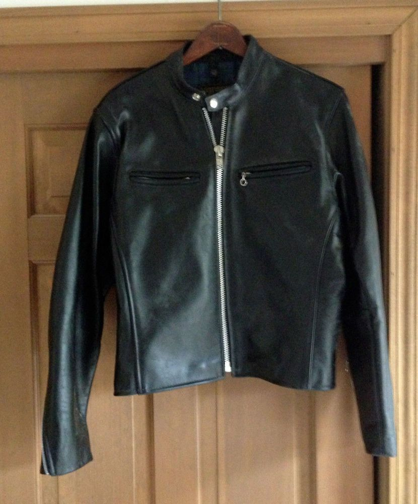 Vanson leather motorcycle gloves - Vanson Usa Cafe Racer Comet Leather Motorcycle Biker Jacket Heavy Cowhide 40 Vanson Motorcycle
