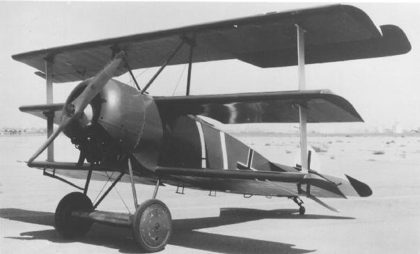 German triplane Fokker Dr.I