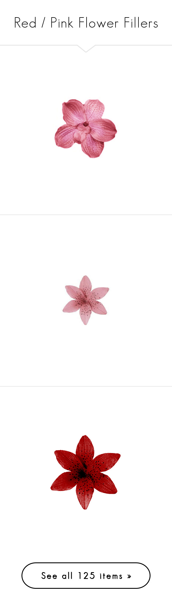 Red pink flower fillers by zl daydreaming liked on polyvore red pink flower fillers by zl daydreaming liked on polyvore featuring mightylinksfo