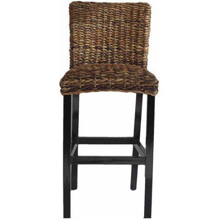 Banana Leaf Bar Chair, Brown