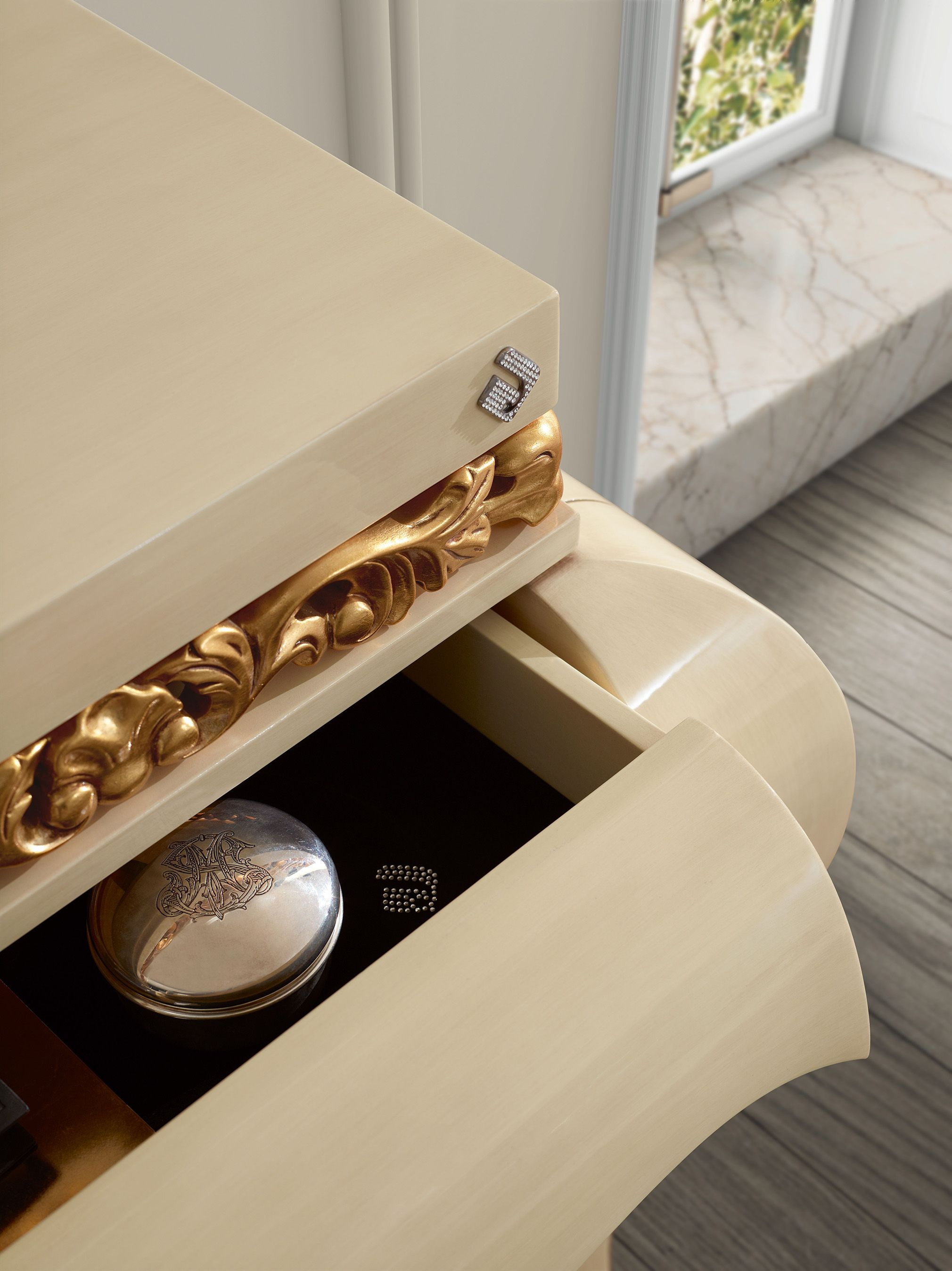 Luxus Console Detail Jetclass Real Furniture Luxury Interior  # Muebles Simon Marbella