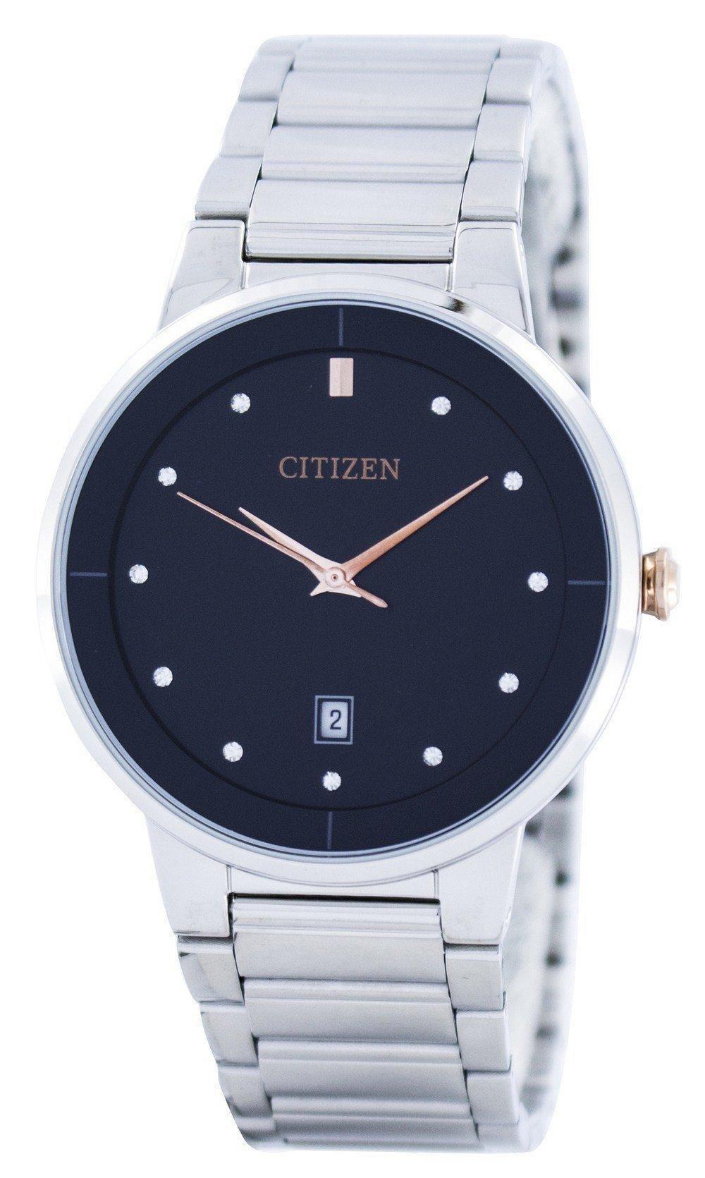 381ec45afe39 Citizen Quartz Diamond Accent Black Dial Bi5014-58e Men s Watch (FREE  Shipping)