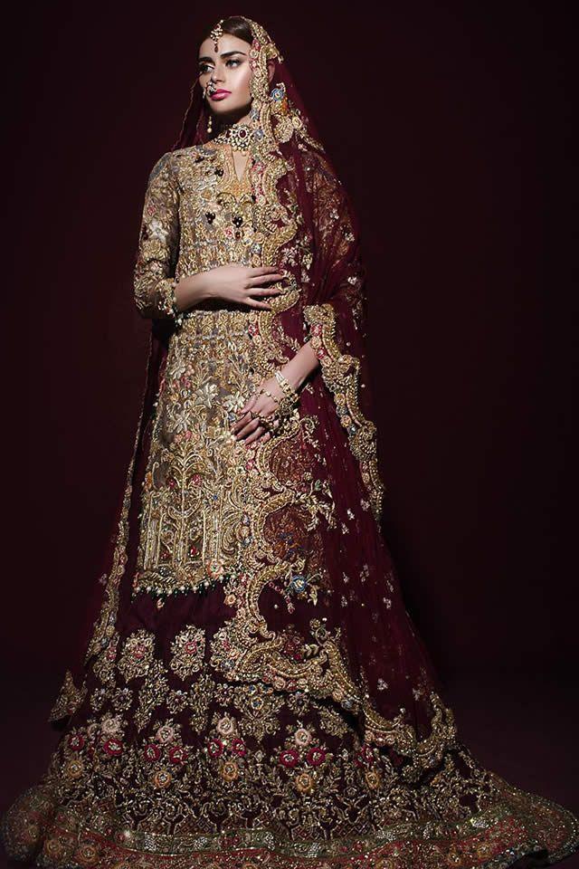 Tena Durrani Bridal Dresses Collection 2017 Pictures