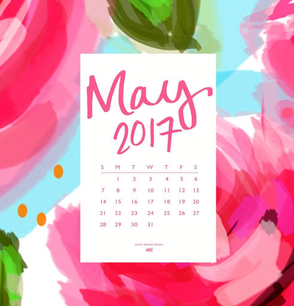 Free Download Hello May Calendar Wallpaper Wallpaper Calendar