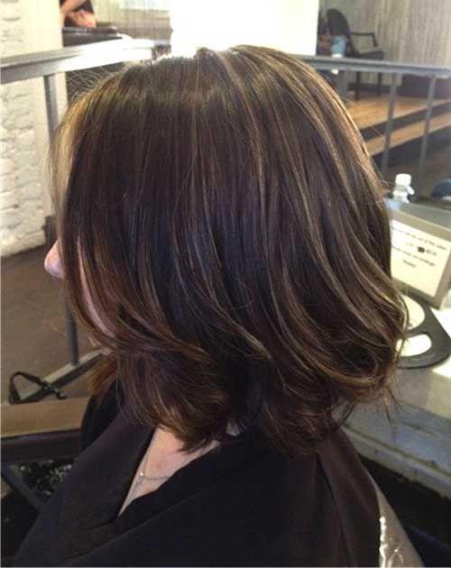 20 Best Brunette Bob Haircuts Bob Haircut And Hairstyle Ideas Brunette Bob Haircut Hair Styles Short Hair Highlights