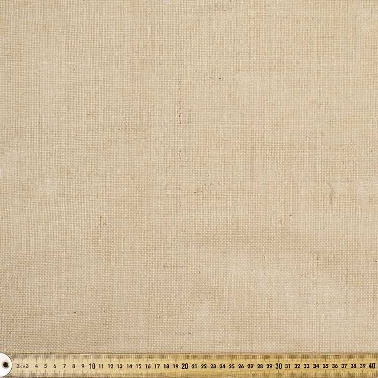 Remi Laminated Hessian Fabric Natural 120 Cm Hessian Fabric Fabric Hessian