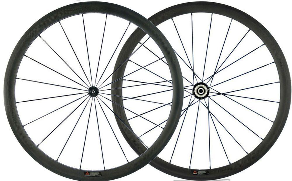 Ebay Sponsored 38mm Carbon Wheels Road Bike Wheelset 25mm U Shape Powerway R36 Hub Sapim Spokes Road Bicycle Bikes Bike Wheel Bicycle