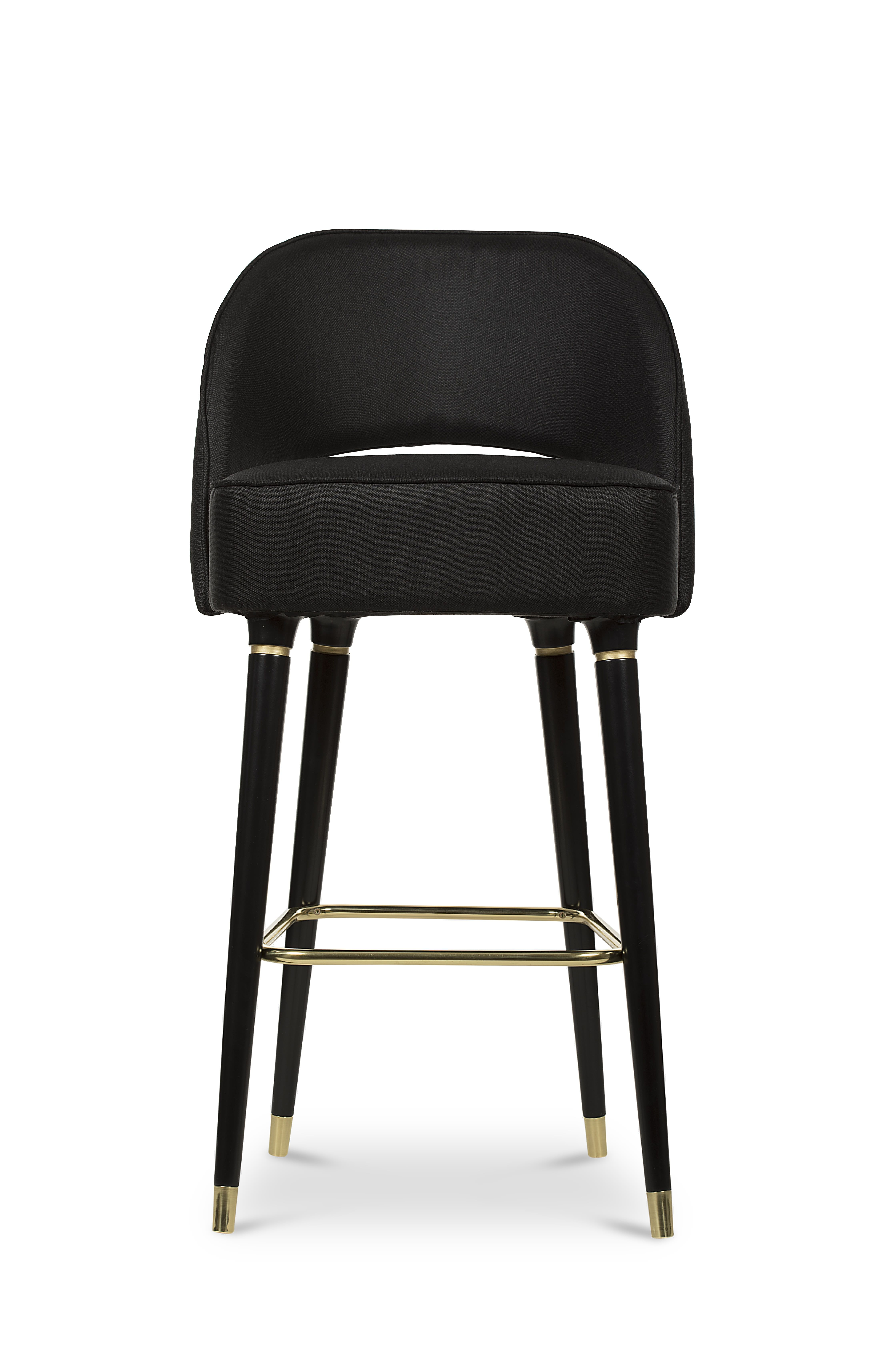Buy Collins Bar Chair By Carlyle Collective Made To Order Designer Furniture From Dering Hall S Collect Bar Chairs Design Bar Chairs Upholstered Bar Stools