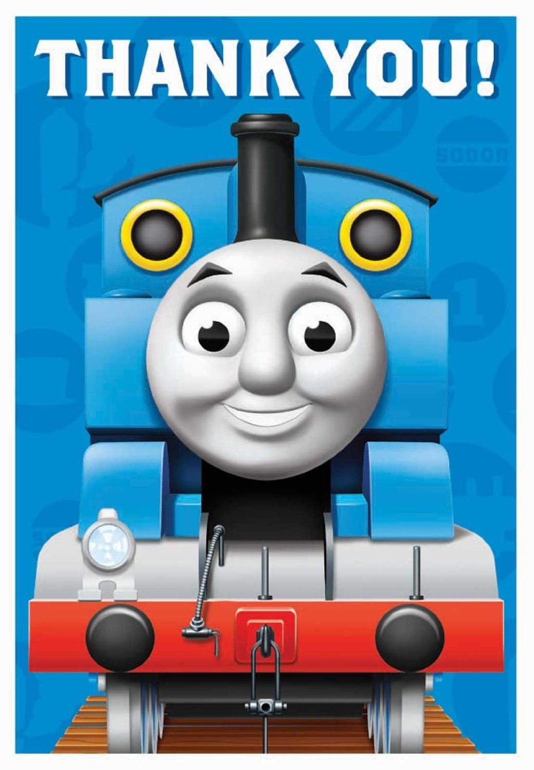 Nice Party Supplies Thomas the Tank Thank-You Notes just added ...