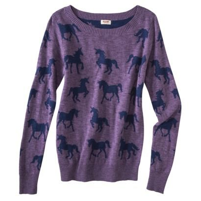 Purple Unicorn Sweater from Target? If only I weren't saving for a ...