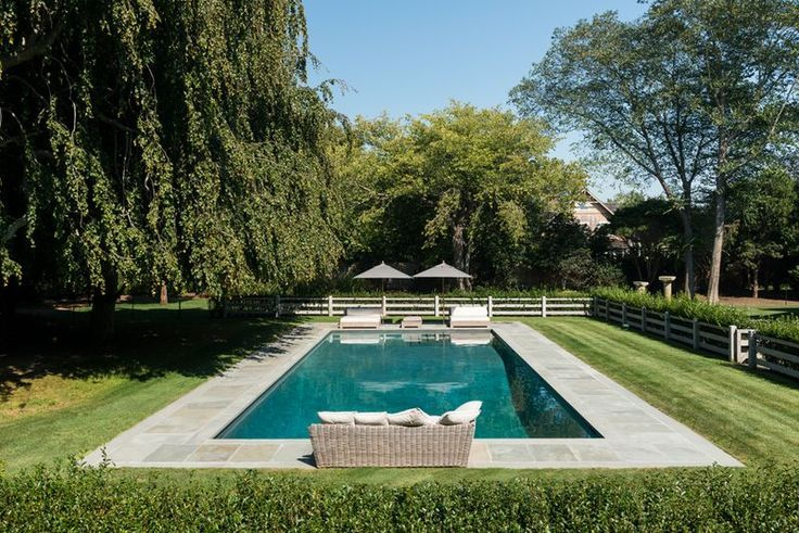 Hamptons pool design: modern, clean styles are in -   11 garden design Modern pool ideas