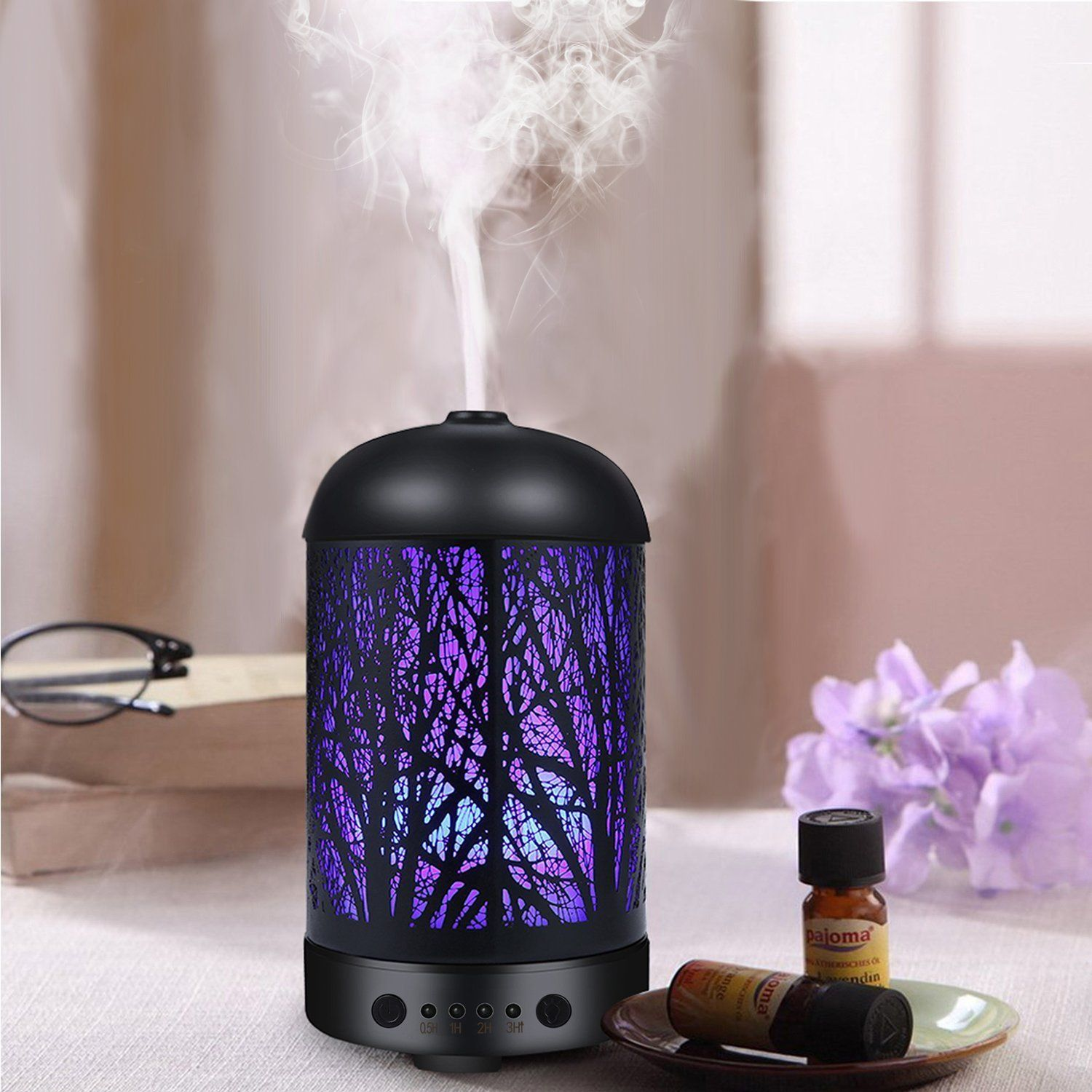 Coosa Genuine Unique Enchanted Forest Designed 100ml Ultrasonic Aromatherapy Essential Oil Diffuser Uk Pl Aroma Diffuser Humidifier Essential Oils Diffuser