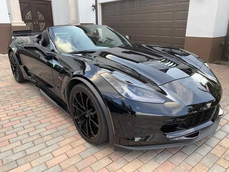 2017 Corvette Convertible for sale Florida Corvette