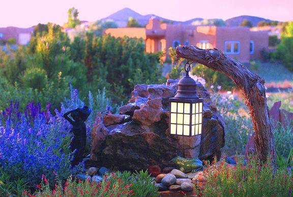 New Mexico Santa Fe High Desert Garden Exotic and Unusual